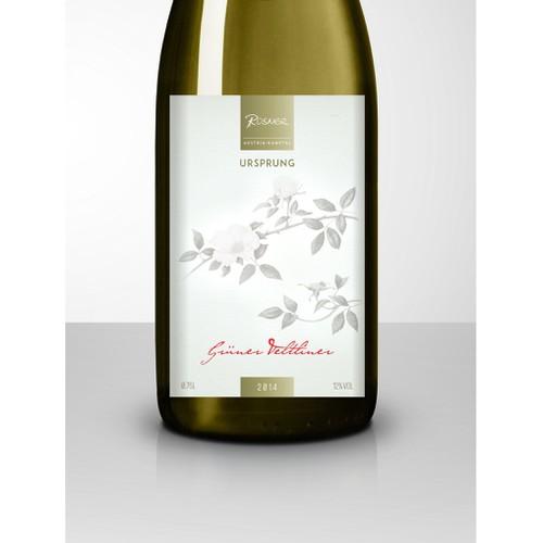 Label Design for an Organic Premium Wine