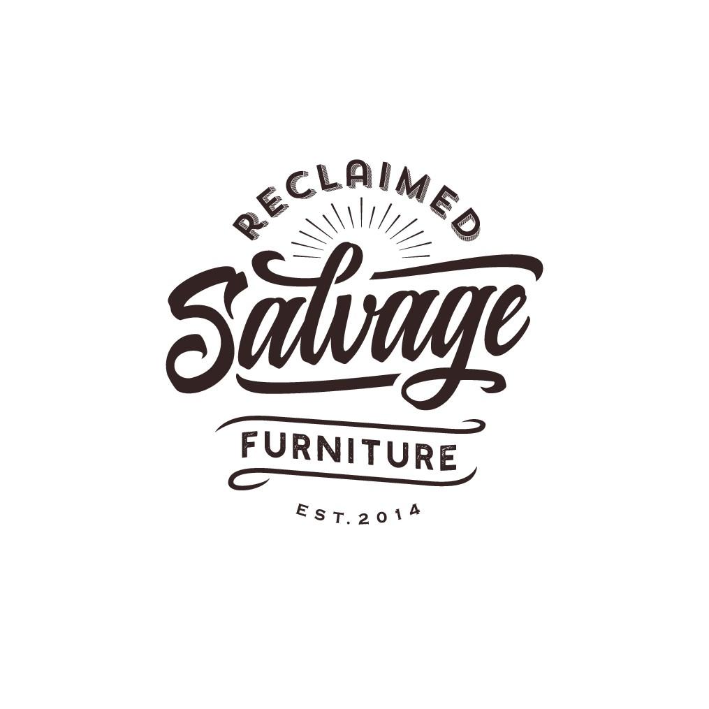 Salvage Reclaimed Furniture Logo Design
