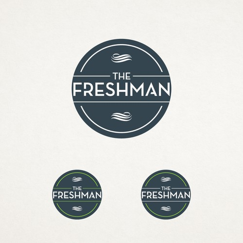 The Freshman; The champagne of air fresheners needs a cool logo.