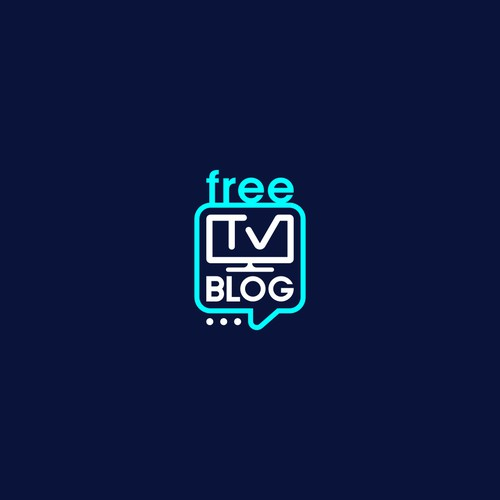 Logo design for -Free Tv Blog-