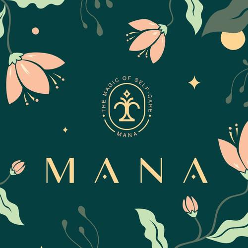 Logo for a wellness brand