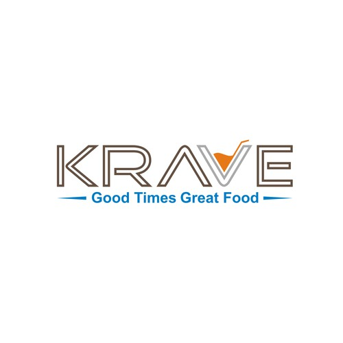 New hotel restaurant, KRAVE, needs a logo!