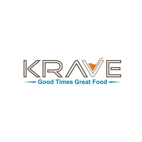 New hotel restaurant, KRAVE, needs a logo!