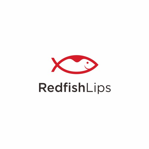 logo combination for Redfish Lips blog