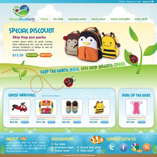 Eco  Online Retailer Needs Your Creative Minds!
