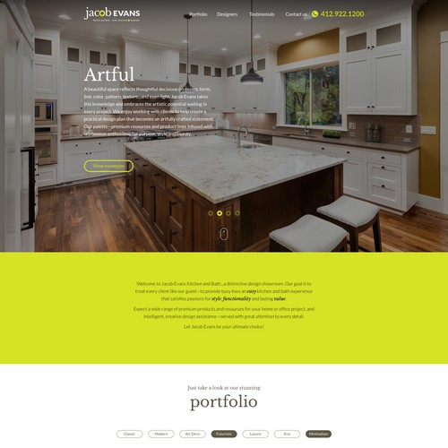Kitchen & Bath Design house website