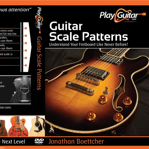 Dvd cover guitar courses