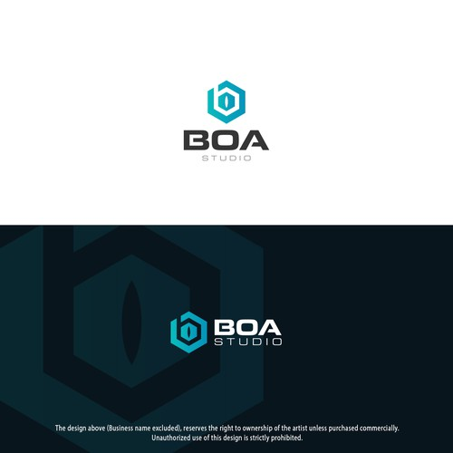 Logo design for BOA Studio
