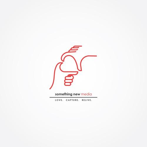 Logo design concept for wedding film production company