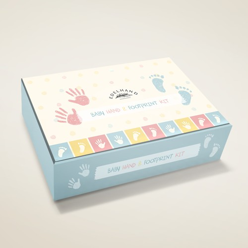 Beautiful box for baby product