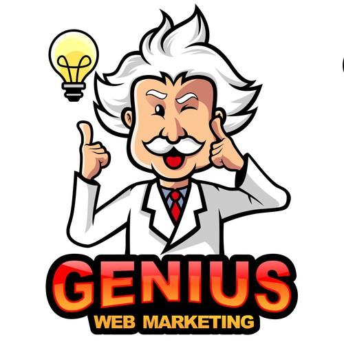 Logo Design for Genius Web Marketing