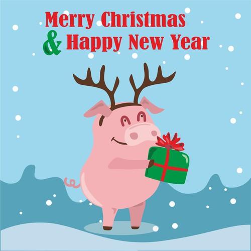 Christmas greeding card