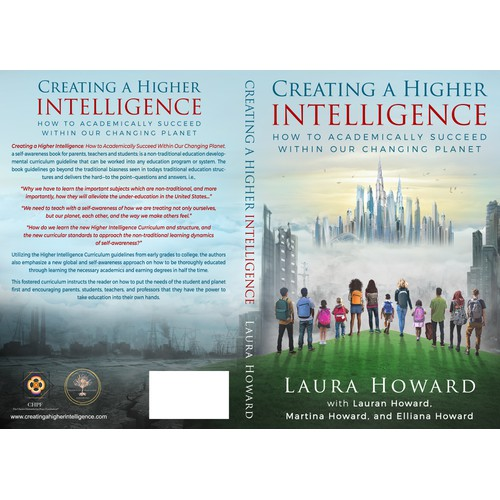 Cover for the book CREATING A HIGHER INTELIGENCE
