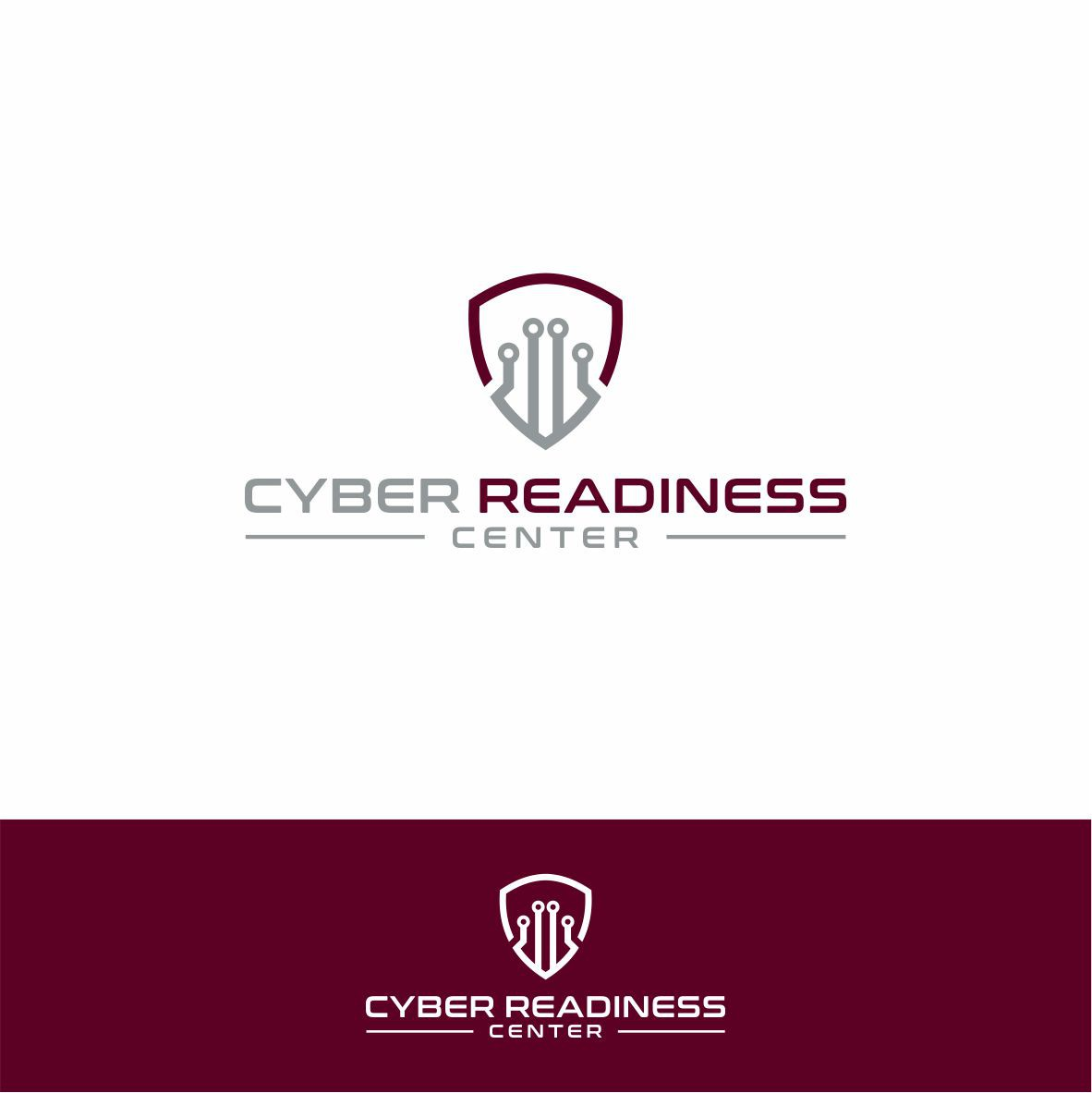 Create a logo to help people be cyber secure READY!