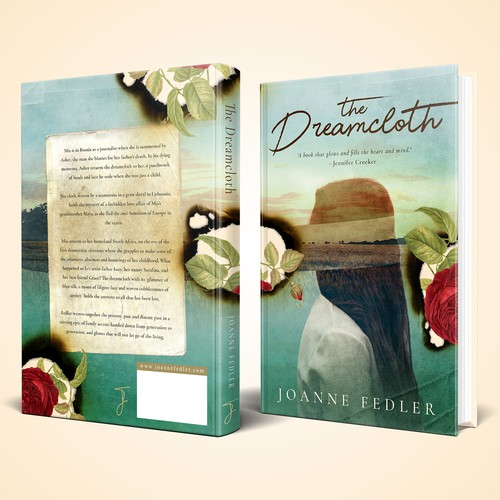 """Book cover for """"The Dreamcloth"""""""