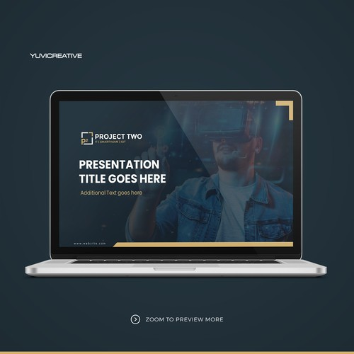 powerpoint-template for project two gmbh - IT, SmartHome and IoT company