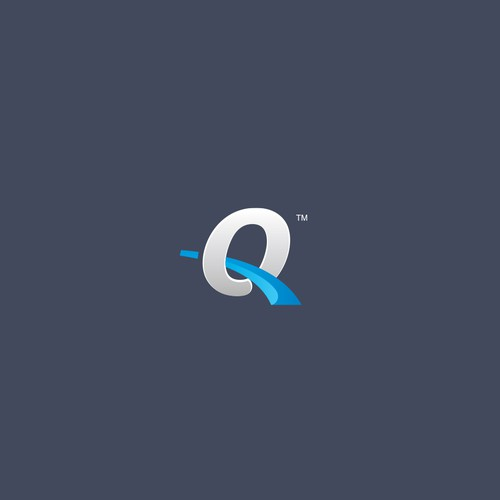 Q logotype for asset management company