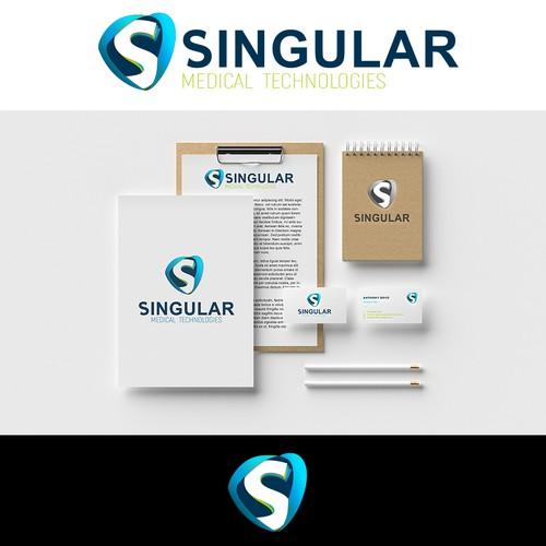 Singular logo design
