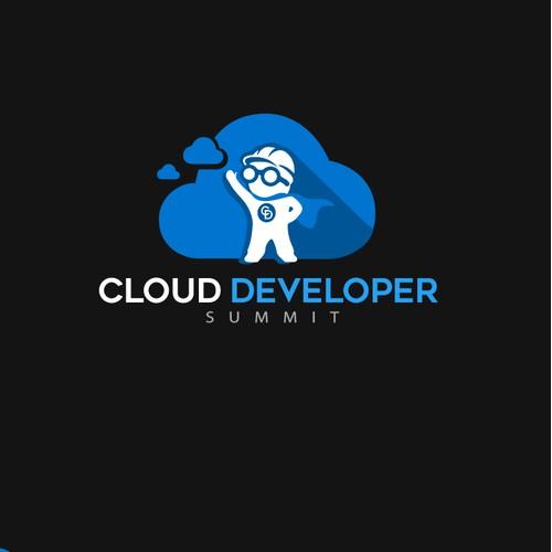 Logo for cloud developer