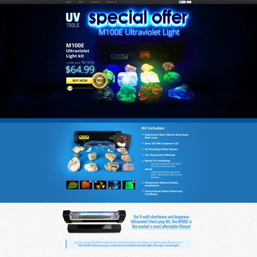 www.ultraviolet-tools.com Ultraviolet Tools LLC needs a new landing page