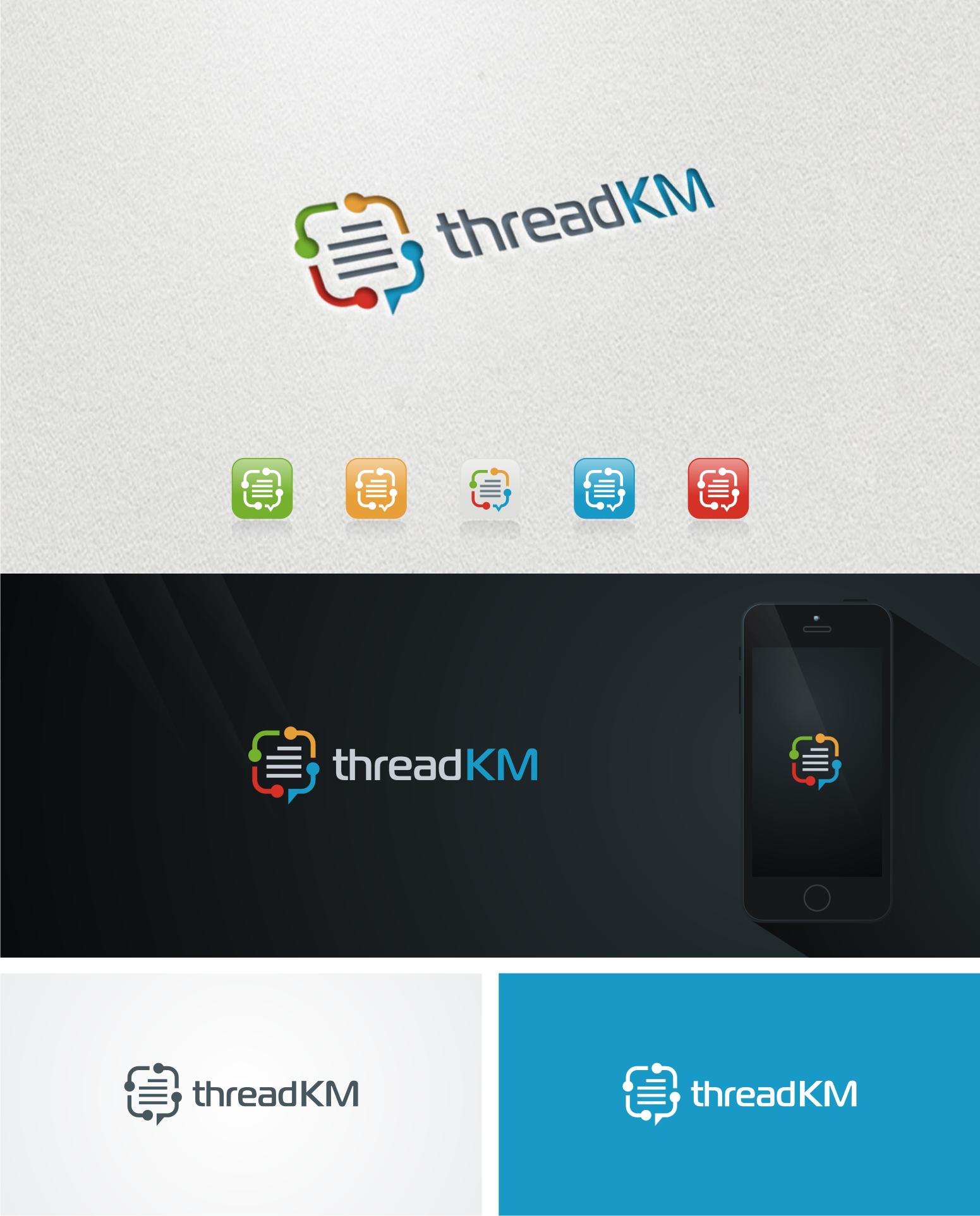 Design logo for an innovative knowledge management web app