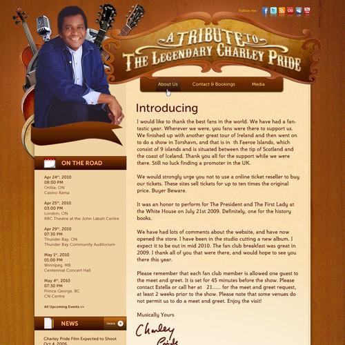 Charley Pride Website