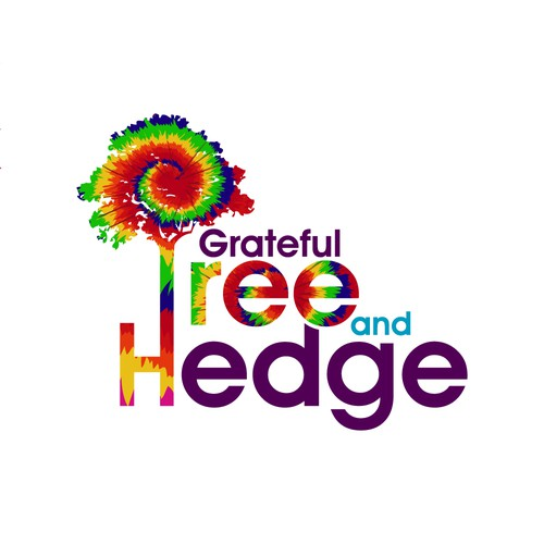 Grateful Tree and Hedge logo design