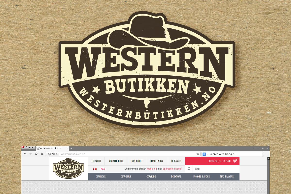 logo for Western butikken