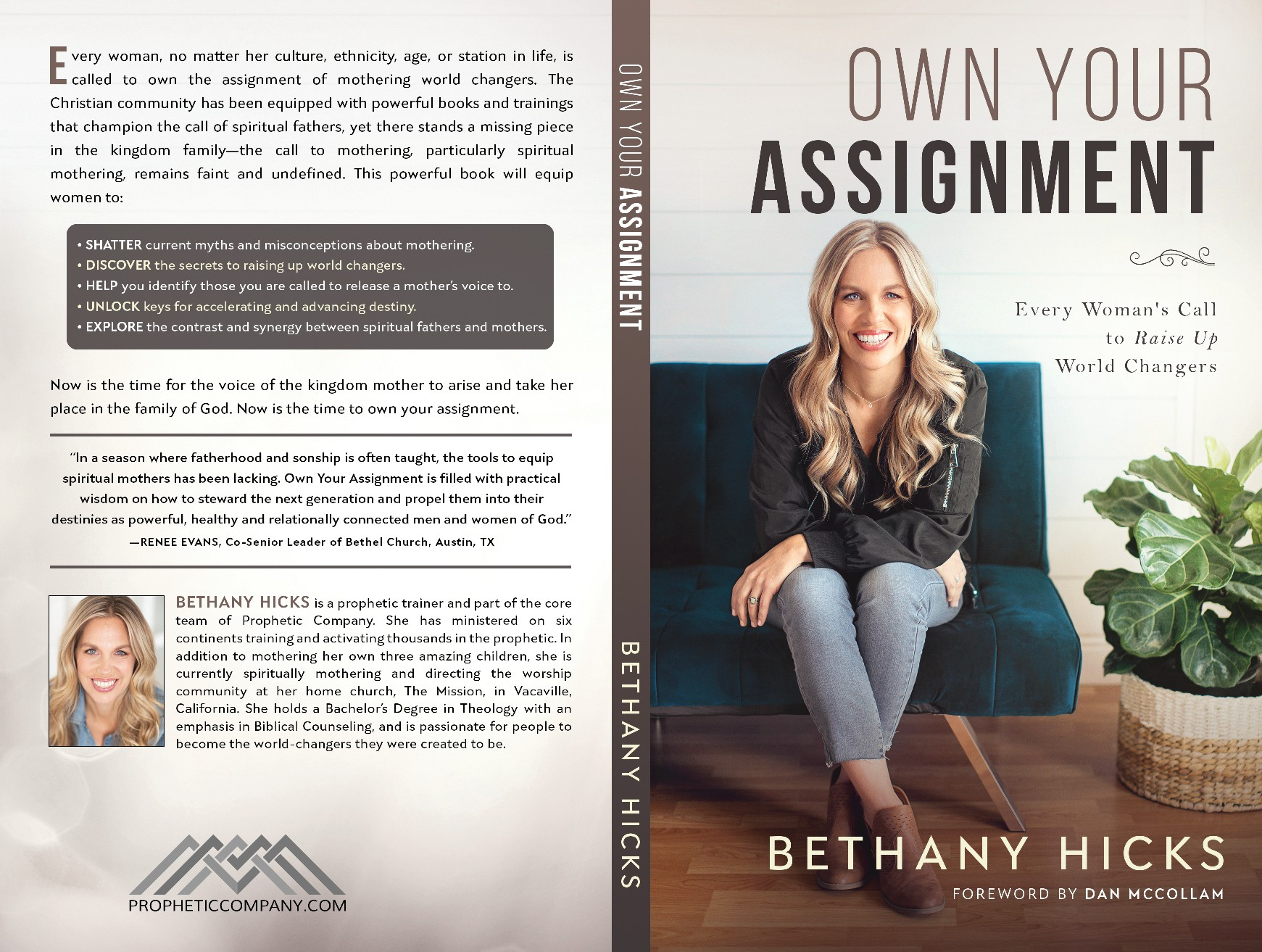 Fresh new book cover geared towards empowering and powerful women