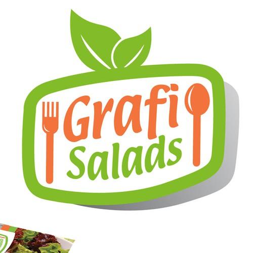 Fresh, New logo for Wholesale Salads (Grafi Salads)