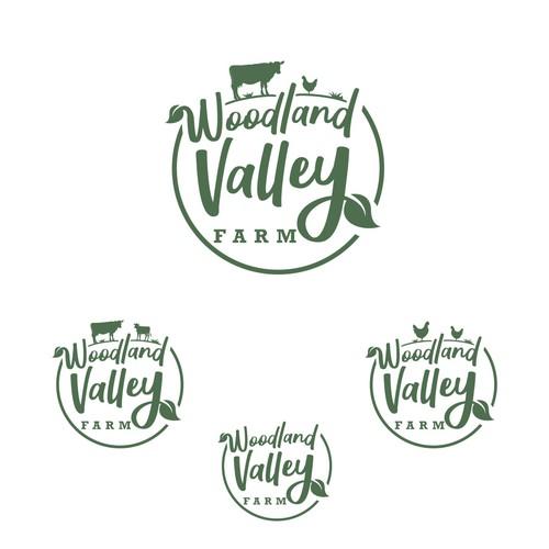 Woodland Valley Farm Logo