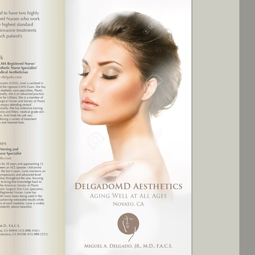 Tri -Fold Brochure for DelgadoMD