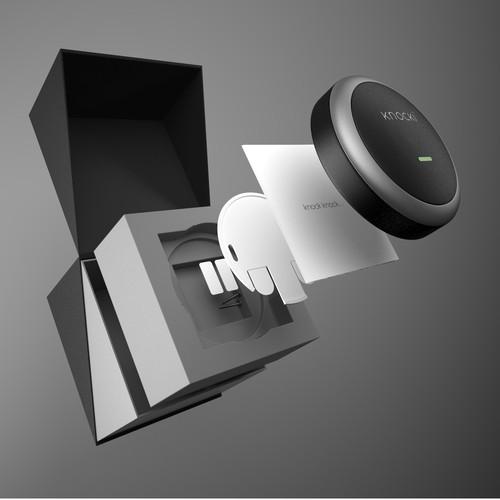 Packaging Design for Knocki Smart Home Device