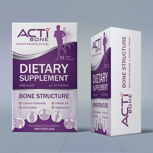 Dietary supplement product packaging