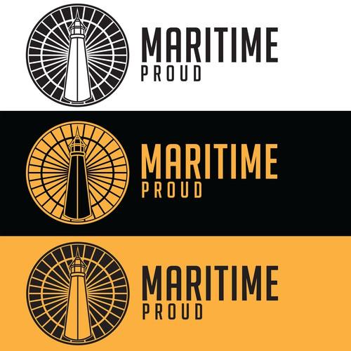 Logo Concept For Maritime Proud