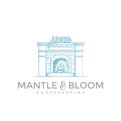 Logo design for Mantle and Bloom