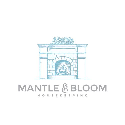 Logo design for Mantle and Bloom