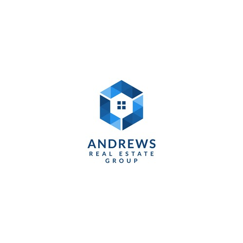 Sophisticated logo design concept for Andrews Real Estate Group