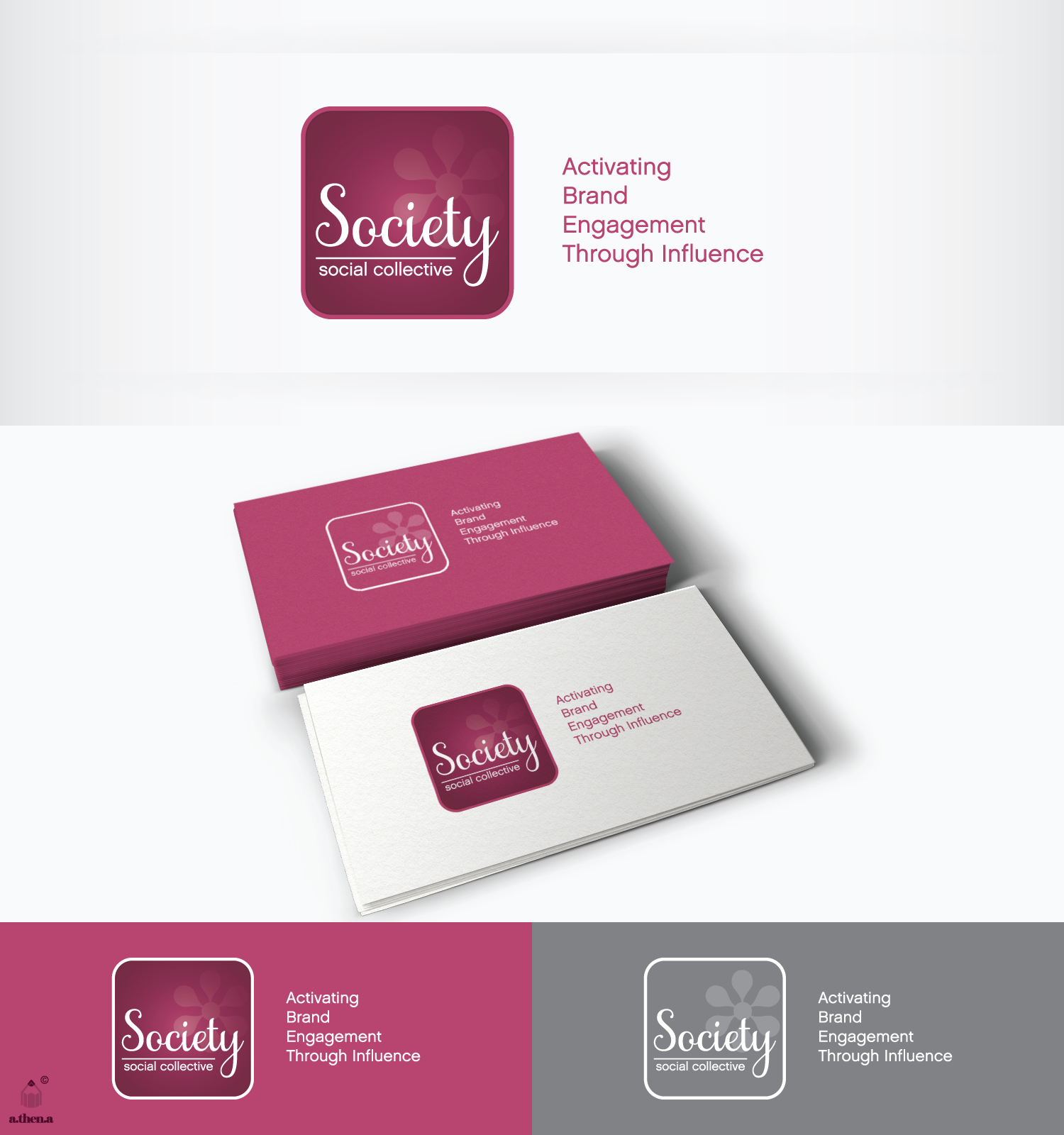 Help Society Social Collective with a new logo