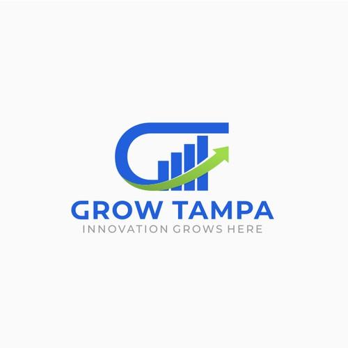 Grow Tampa Logo Design