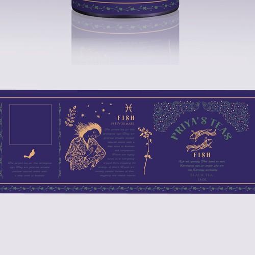 Design needed for Astrology Tea Company
