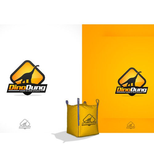 Dino Dung needs a new logo and business card