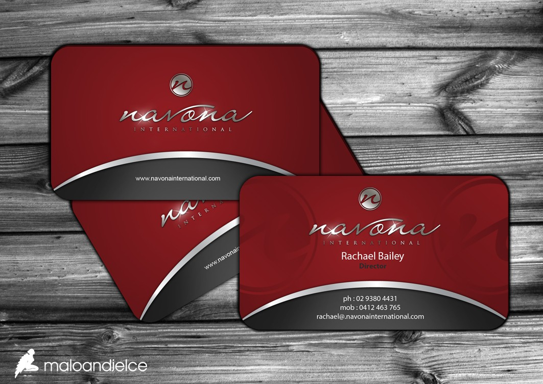 Upscale Beauty & Cosmetic Import Company - BUSINESS CARDS