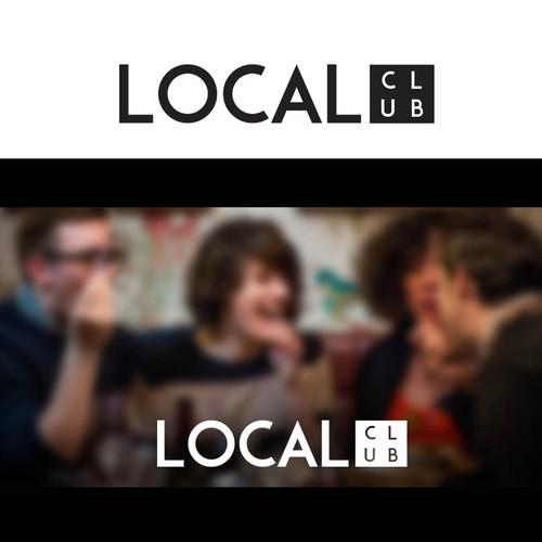Create an eye-catching logo for a local VIP food club