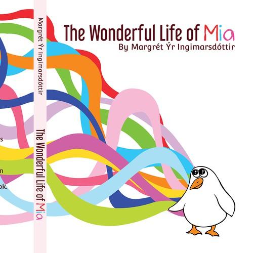 Colourful book cover design