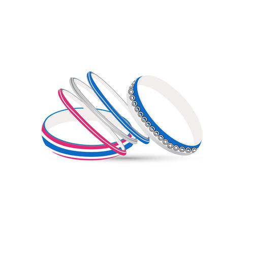 minimalist bangel set design