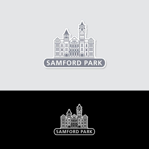 Logo for Samford Park in Auburn University!