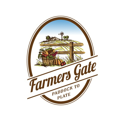 Help farmers gate with a new logo
