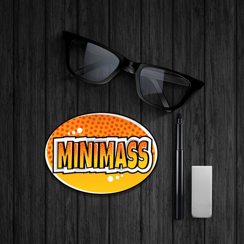 "Sticker for ""MINIMASS"""