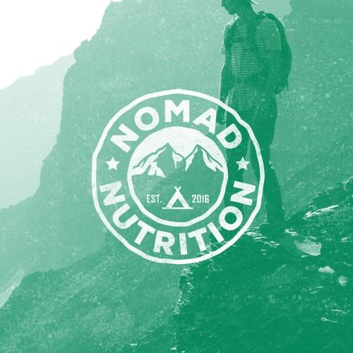 Nomad Nutrition Logo & Brand Identity